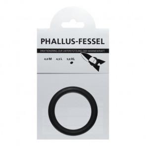 AMARELLE Phallusfessel, Rubber Cockring, XL, black