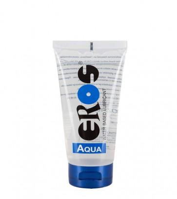 Megasol, EROS AQUA Water Based Lubricant, 100 ml Tube (3,4 oz)