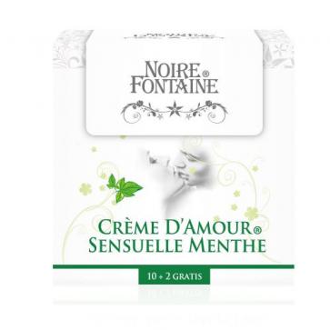 Noire Fontaine Crème D'Amour, Sensuelle Menthe, 12 x 5 ml (0,17 fl.oz.)
