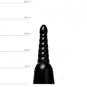All Black Dildo Waldemar