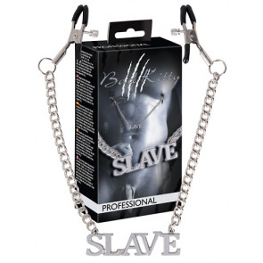 BK Slave Kette mit Klemmen
