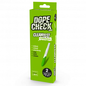DOPE-CHECK Urin Clean-Test Cannabis, Cut-off 25 ng/ml, 2 pcs