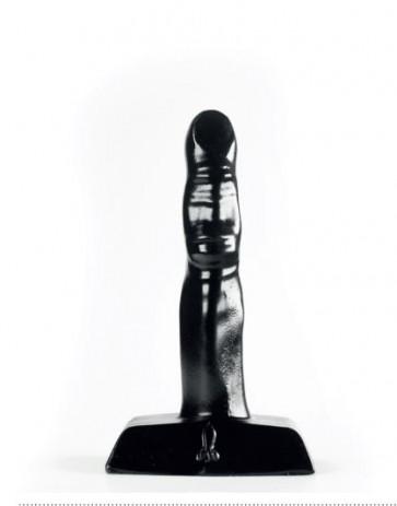 ZIZI XXX ONE FINGER BLACK, Black, 10 cm (3,9 in), Ø 2 cm (0,8 in)