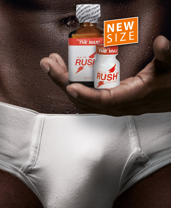 White Rush Poppers Bottles